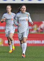 Belgium - The Netherlands : Danielle van de Donk.foto DAVID CATRY / Vrouwenteam.be