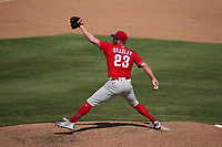 Philadelphia Phillies pitcher Archie Bradley (23) during a Major League Spring Training game against the Baltimore Orioles on March 12, 2021 at the Ed Smith Stadium in Sarasota, Florida.  (Mike Janes/Four Seam Images)
