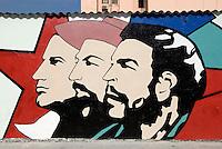 Cuba, Habana, Revolutionskunst an der Zulueta