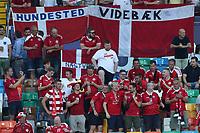 DenMark supporters cheer on<br /> Udine 17-06-2019 Stadio Friuli <br /> Football UEFA Under 21 Championship Italy 2019<br /> Group Stage - Final Tournament Group B<br /> Germany - Denmark<br /> Photo Cesare Purini / Insidefoto