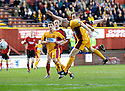01/04/2006         Copyright Pic: James Stewart.File Name : sct_jspa01_motherwell_v_livingston.JIM HAMILTON SCORES MOTHERWELL'S FIRST...Payments to :.James Stewart Photo Agency 19 Carronlea Drive, Falkirk. FK2 8DN      Vat Reg No. 607 6932 25.Office     : +44 (0)1324 570906     .Mobile   : +44 (0)7721 416997.Fax         : +44 (0)1324 570906.E-mail  :  jim@jspa.co.uk.If you require further information then contact Jim Stewart on any of the numbers above.........