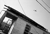 New Orleans, Louisiana.USA.September 28, 2005 ..Hurricane Katrina damage and recovery. The lower ninth ward.