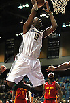 Reno Bighorns' Anthony Richardson plays in Friday's minor league basketball game, Feb. 11, 2011, against the Fort Wayne Mad Ants at the Reno Events Center in Reno, Nev. .Photo by Cathleen Allison