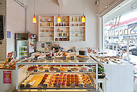 The Bakery Cafe on the popular Tiong Bahru Cafe street in Singapore.