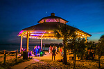 One of the summer concert series of Beach Jams at Shell Point Beach in the north Florida panhandle.