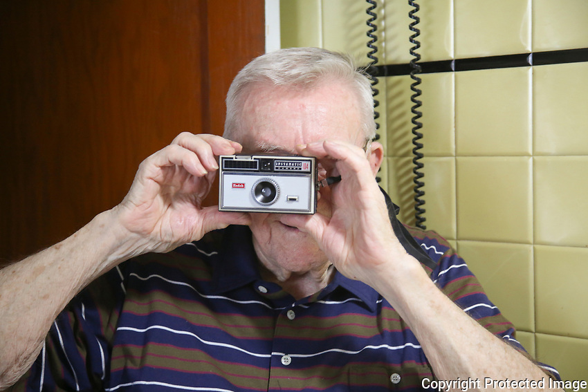 Grandma was the shutterbug. He gave me this camera and a great smile.