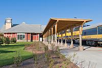 Alaska Railroad Depot, Fairbanks, Alaska