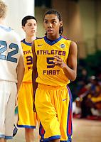 April 10, 2011 - Hampton, VA. USA;  Allonzo Trier participates in the 2011 Elite Youth Basketball League at the Boo Williams Sports Complex. Photo/Andrew Shurtleff