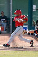 Jerry Gonzalez - Los Angeles Angels - 2009 spring training.Photo by:  Bill Mitchell/Four Seam Images
