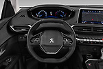 Car pictures of steering wheel view of a 2019 Peugeot 5008 Allure 5 Door SUV