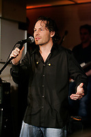 Former Formula One World Champion Jacques Villeneuve launch First Date. ...<br />  his first music album, February 19 2007 at NEWTOWN ; his Montreal nightclub and restaurant.<br /> <br /> photo : Pierre Roussel (c)  Images Distribution