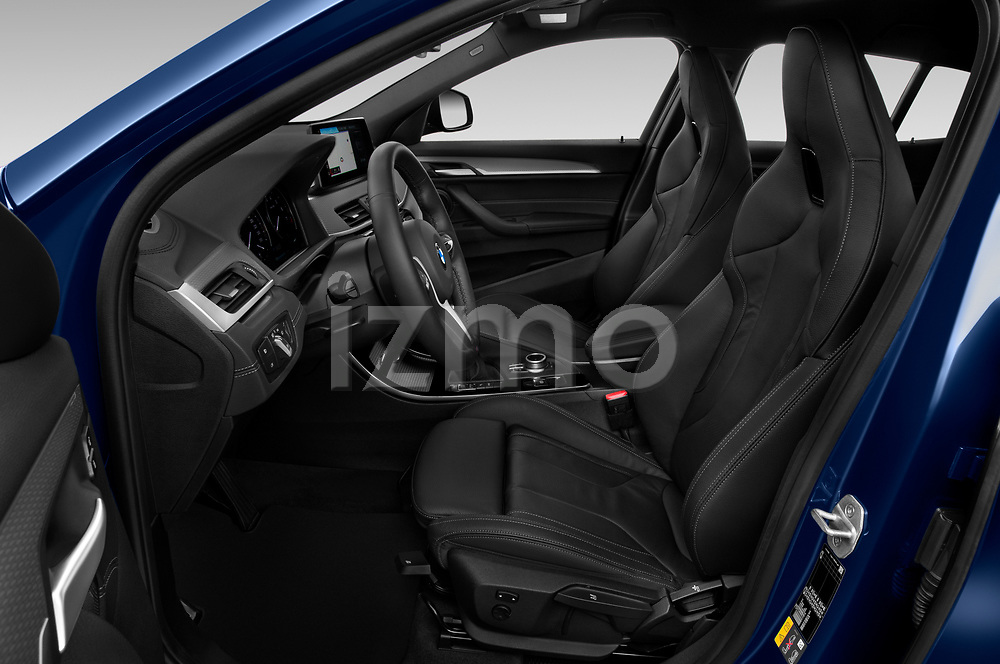Front seat view of 2020 BMW X2 M-Sport-X 5 Door SUV Front Seat  car photos