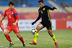 South Korea vs Malaysia during the AFC U23 Championship China 2018 Quarter Finals match at Kunshan Sports Center on 20 January 2018, in Kunshan, China. Photo by Marcio Rodrigo Machado / Power Sport Images