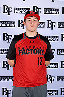 Bryce Tencleve (12) of Subiaco Academy in Paris, Arkansas during the Baseball Factory All-America Pre-Season Tournament, powered by Under Armour, on January 12, 2018 at Sloan Park Complex in Mesa, Arizona.  (Mike Janes/Four Seam Images)