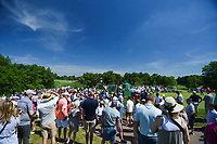 5th June 2021; Dublin, Ohio, USA; Blue skies brought large crowds out near the tee on 10 during the Memorial Tournament Rd3 at Muirfield Village Golf Club on June 5, 2021 in Dublin, Ohio.