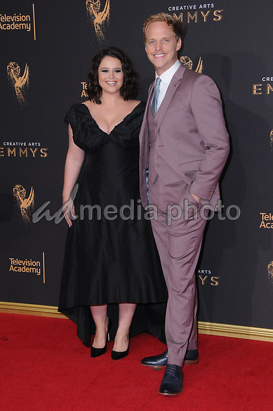 10 September  2017 - Los Angeles, California - Kether Donohue, Chris Geere. 2017 Creative Arts Emmys - Arrivals held at Microsoft Theatre L.A. Live in Los Angeles. Photo Credit: Birdie Thompson/AdMedia