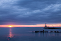 """Canal Park Sunrise""<br />