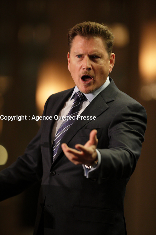 Darren Entwistle, President & CEO of TELUS,  deliver a speech to the Canadian Club of Montreal<br /> ,Tuesday, January 26, 2016<br /> <br /> PHOTO : PIerre Roussel - Agence Quebec Presse<br /> <br /> <br /> <br /> <br /> <br /> <br /> <br /> <br /> <br /> .