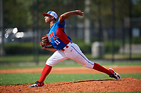 Emmanuel Nunez (11) during the Dominican Prospect League Elite Florida Event at Pompano Beach Baseball Park on October 14, 2019 in Pompano beach, Florida.  Emmanuel Nunez (11).  (Mike Janes/Four Seam Images)