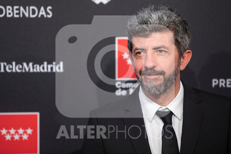 MADRID, SPAIN - JANUARY 16: Director Alberto Rodriguez attends Feroz awards 2020 red carpet at Teatro Auditorio Ciudad de Alcobendas on January 16, 2020 in Madrid, Spain.
