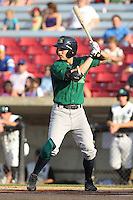 Beloit Snappers outfielder Nate Roberts #12 during a game against the Kane County Cougars at Fifth Third Bank Ballpark on June 26, 2012 in Geneva, Illinois. Beloit defeated Kane County 8-0. (Brace Hemmelgarn/Four Seam Images)