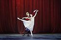 London, UK. 13.12.2016. English National Ballet presents NUTCRACKER, at the London Coliseum. Choreography by Wayne Eagling, based on a concept by Toer van Schayk and Wayne Eagling, music by Pyotr Ilyich Tchaikovsky, design by Peter Farmer, lighting by David Richardson. Picture shows: James Forbat (Nutcracker), Alina Cojocaru (Clara). Photograph © Jane Hobson.,