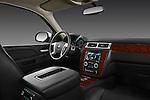 Passenger side dashboard view of a 2012 Chevrolet Suburban LTZ .