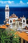 Spanien, Kanarische Inseln, Teneriffa, Wallfahrtsort Candelaria: Basilica de Candelaria | Spain, Canary Islands, Tenerife, Candelaria: pilgrimage church Basilica de Candelaria