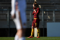 Vanessa Bernauer of AS Roma reacts during the Women Italy cup round of 8 second leg match between AS Roma and Roma Calcio Femminile at stadio delle tre fontane, Roma, February 20, 2019 <br /> Foto Andrea Staccioli / Insidefoto