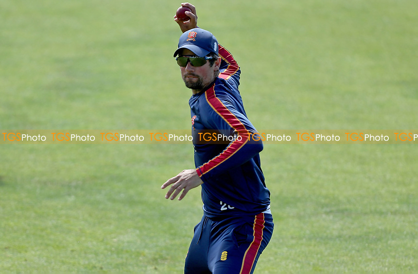 Sir Alastair Cook of Essex warms up prior to Essex CCC vs Nottinghamshire CCC, LV Insurance County Championship Group 1 Cricket at The Cloudfm County Ground on 5th June 2021