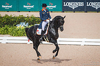 NED-Hans Peter Minderhoud rides Glock's Dream Boy NOP during the FEI World Team Championship Grand Prix Dressage. 2018 FEI World Equestrian Games Tryon. Wednesday 12 September. Copyright Photo: Libby Law Photography