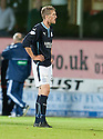 Dundee's Jim McAlister at the end of the game.
