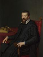 Full title: Portrait of Suitbertus Purmerent<br /> Artist: Willem van der Vliet<br /> Date made: 1631<br /> Source: http://www.nationalgalleryimages.co.uk/<br /> Contact: picture.library@nationalgallery.co.uk<br /> <br /> Copyright © The National Gallery, London
