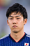 Endo Wataru of Japan is seen prior to the AFC Asian Cup UAE 2019 Group F match between Oman (OMA) and Japan (JPN) at Zayed Sports City Stadium on 13 January 2019 in Abu Dhabi, United Arab Emirates. Photo by Marcio Rodrigo Machado / Power Sport Images