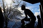 Maglia Bianca Tadej Pogacar (SLO) UAE Team Emirates wins Stage 4 of Tirreno-Adriatico Eolo 2021, running 148km from Terni to Prati di Tivo, Italy. 13th March 2021. <br /> Photo: LaPresse/Marco Alpozzi   Cyclefile<br /> <br /> All photos usage must carry mandatory copyright credit (© Cyclefile   LaPresse/Marco Alpozzi)
