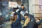 Demonstrators for the independence of Catalonia arrested several young people who were looting a Media markt<br /> October 20, 2019. <br /> (ALTERPHOTOS/ David Jar)