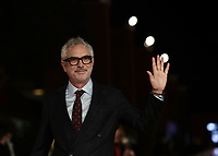 Mexican director Alfonso Cuaron poses on the red carpet at the 16th edition of the Rome Film Fest in Rome, on October 20, 2021.<br /> UPDATE IMAGES PRESS/Isabella Bonotto