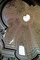 Interior of dome of Sant 'Ivo della Sapienza designed by Francesco Borromini. Rome, Italy