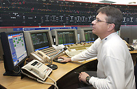 March 2004 File Photo<br /> Control center of Montreal subway<br /> Photo by Sevy / Images Distribution