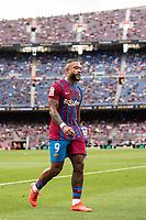 29th August 2021; Nou Camp, Barcelona, Spain; La Liga football league, FC Barcelona versus Getafe; Memphis Depay Barcelona