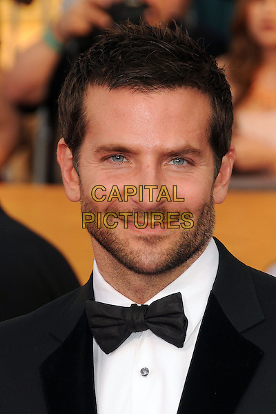 18 January 2014 - Los Angeles, California - Bradley Cooper. 20th Annual Screen Actors Guild Awards - Arrivals held at The Shrine Auditorium. Photo Credit: Byron Purvis/AdMedia<br /> CAP/ADM/BP<br /> ©Byron Purvis/AdMedia/Capital Pictures