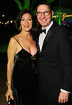 Soraya and Scott McClelland at the Discovery Green Gala Saturday Feb 25,2012. (Dave Rossman/For the Chronicle)