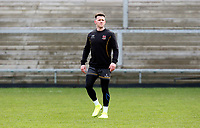 Thursday 18th February 2021 | Ulster Rugby Captain's Run<br /> <br /> Craig Gilroy during the Ulster Rugby Captain's Run held at Kingspan Stadium, Ravenhill Park, Belfast, Northern Ireland, ahead of the Glasgow PRO14clash on Friday night. Photo by John Dickson / Dicksondigital