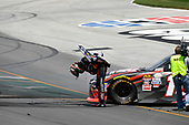 NASCAR XFINITY Series<br /> Alsco 300<br /> Kentucky Speedway, Sparta, KY USA<br /> Saturday 8 July 2017<br /> Kyle Busch, NOS Energy Drink Rowdy Toyota Camry celebrates with the checkered flag<br /> World Copyright: Logan Whitton<br /> LAT Images