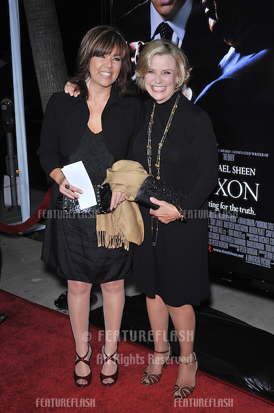 """Patty McCormack & daughter (left) at the Los Angeles premiere of her new movie """"Frost/Nixon"""" at the Academy's Samuel Goldwyn Theatre, Beverly Hills..November 24, 2008  Los Angeles, CA.Picture: Paul Smith / Featureflash"""