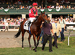 02 April 2010. Nordic Truce and Julien Leparoux after winning the Transyvlania (GRIII) at Keeneland.