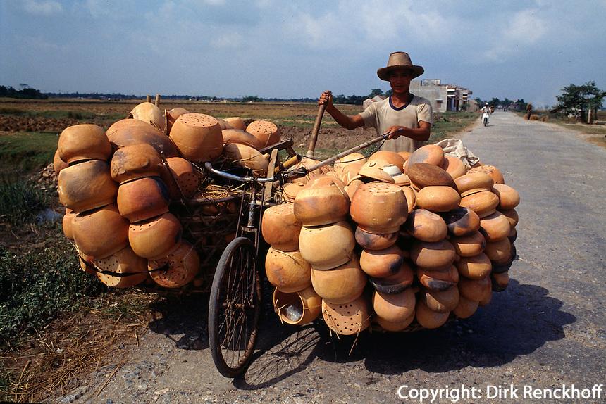 Töpferware in Thai Binh, Vietnam
