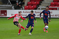 Sunderland's Aiden McGeady cross shot during Sunderland AFC vs Blackpool, Sky Bet EFL League 1 Football at the Stadium Of Light on 27th April 2021