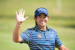 Pavit Tangkamolprasert of Thailand at the first hole during the 58th UBS Hong Kong Golf Open as part of the European Tour on 08 December 2016, at the Hong Kong Golf Club, Fanling, Hong Kong, China. Photo by Marcio Rodrigo Machado / Power Sport Images