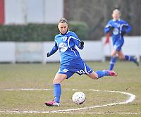 AA Gent Ladies - Lommel : Jassina Blom<br /> foto DAVID CATRY / Nikonpro.be